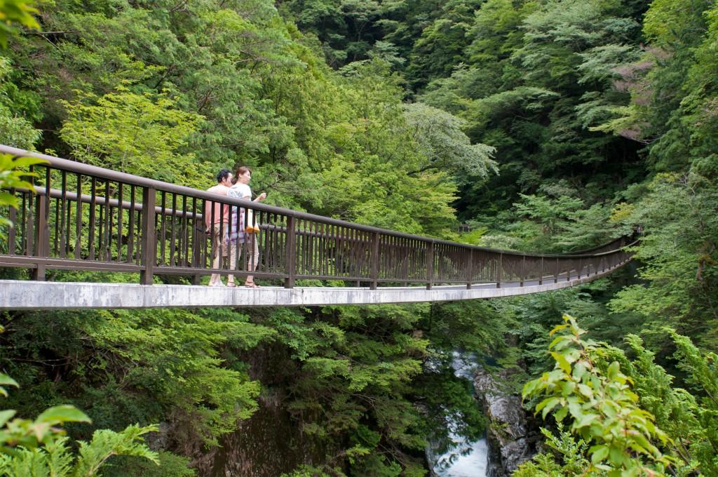 みたらい渓谷|奈良県吉野郡天川村