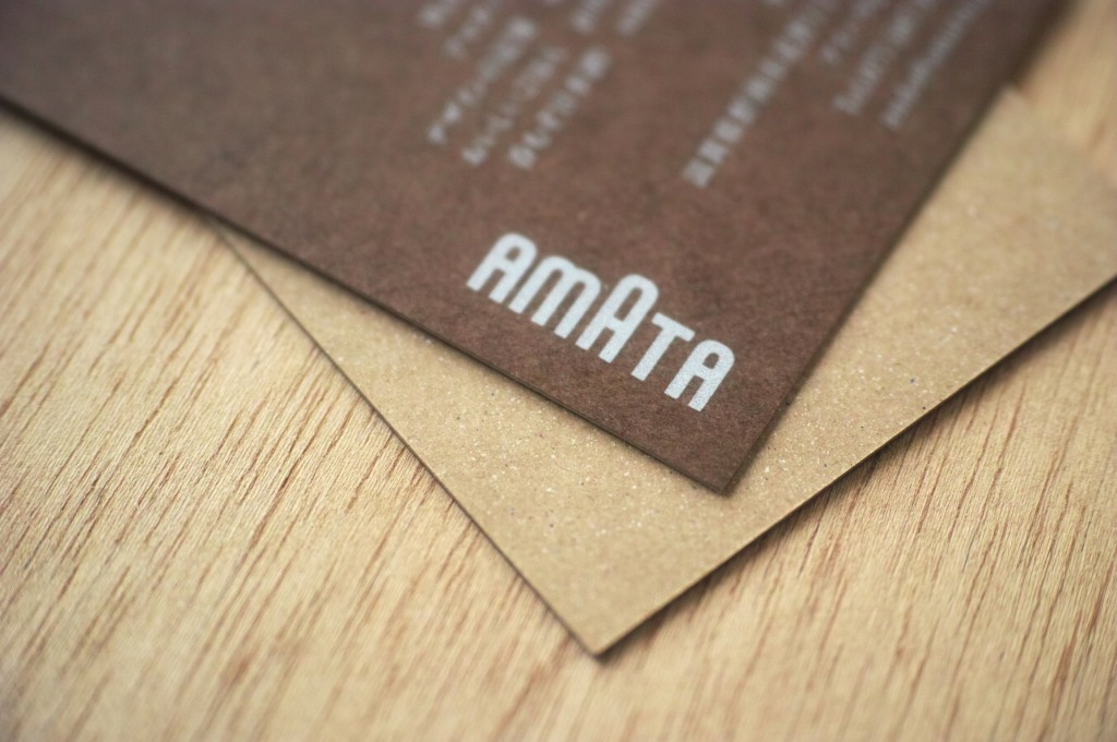 a business card by katsuya ando, on Flickr